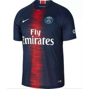 NIKE PARIS SAINT-GERMAN PSG SOCCER JERSEY 2018